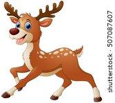Illustration Of Cute Deer...