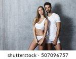 Beautiful people in underwear ...