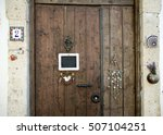 Small photo of Traditional Aegean house door, Izmir, Turkey
