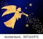 Christmas Angel Vector...