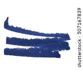 isolated blue marker pen stroke ... | Shutterstock .eps vector #507167839