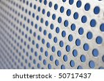 bright brushed and drilled a... | Shutterstock . vector #50717437