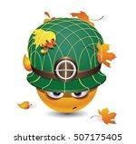 illustration of a smiley... | Shutterstock .eps vector #507175405