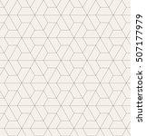 vector seamless pattern. modern ... | Shutterstock .eps vector #507177979