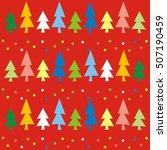 christmas wallpaper  vector...   Shutterstock .eps vector #507190459