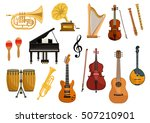 Vector Icons Of Musical...