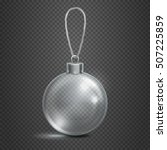 clear transparent glass... | Shutterstock .eps vector #507225859