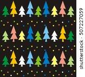 christmas wallpaper   Shutterstock .eps vector #507227059
