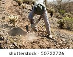 volunteers at work building a... | Shutterstock . vector #50722726