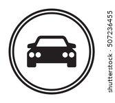 car icon. flat design. | Shutterstock .eps vector #507236455