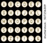 Vector Vintage Typewriter...