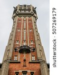 Belfry Of Town Hall Lille   On...