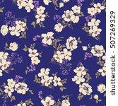 flower pattern illustration | Shutterstock .eps vector #507269329