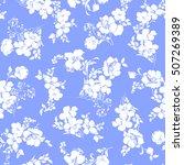 flower pattern illustration | Shutterstock .eps vector #507269389
