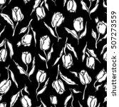 flower pattern illustration | Shutterstock .eps vector #507273559