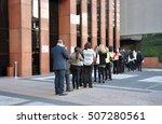 sao paulo  brazil   october 5 ... | Shutterstock . vector #507280561