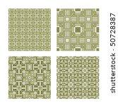 seamless tiling green texture... | Shutterstock . vector #50728387