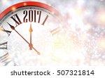 2017 new year shining... | Shutterstock .eps vector #507321814