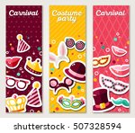 set of vertical banners with... | Shutterstock .eps vector #507328594