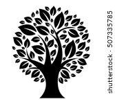 tree  vector illustration | Shutterstock .eps vector #507335785