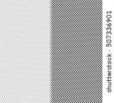 diagonal oblique edgy lines... | Shutterstock .eps vector #507336901
