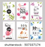 sale banners collection for...   Shutterstock .eps vector #507337174