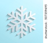 snowflakes vector illustration. ...