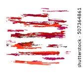 grunge design elements. ... | Shutterstock . vector #507364861