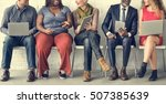 diverse group of people... | Shutterstock . vector #507385639