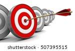 3d illustration of right target ...   Shutterstock . vector #507395515