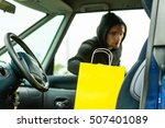 transportation  crime and... | Shutterstock . vector #507401089