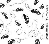 seamless flat vector pattern  ... | Shutterstock .eps vector #507409879