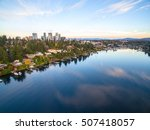 downtown bellevue washington... | Shutterstock . vector #507418057