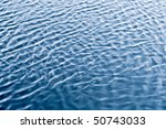 Texture Of River Water With...