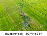 Aerial View Of Electrical...