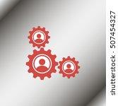 gears symbol.   Shutterstock .eps vector #507454327