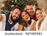 picture showing group of... | Shutterstock . vector #507485581