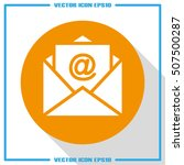 email icon vector eps 10 ...   Shutterstock .eps vector #507500287