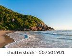 brava beach in florianopolis ... | Shutterstock . vector #507501901