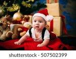 fairy tale portrait of... | Shutterstock . vector #507502399