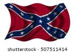 historical national flag of the ... | Shutterstock . vector #507511414