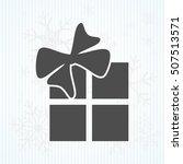 gift  box  flat  vector    Shutterstock .eps vector #507513571