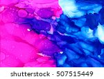 abstract bright pink with... | Shutterstock . vector #507515449