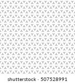raster monochrome seamless... | Shutterstock . vector #507528991