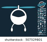 helicopter icon with bonus... | Shutterstock .eps vector #507529801
