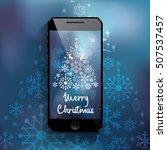 mobile smartphone template set...