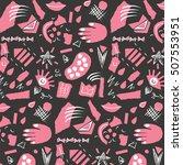 abstract vector pattern | Shutterstock .eps vector #507553951