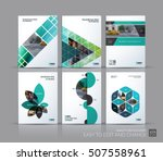 cover design annual report ... | Shutterstock .eps vector #507558961