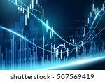 stock exchange concept  vector...   Shutterstock .eps vector #507569419