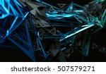 abstract 3d rendering of... | Shutterstock . vector #507579271